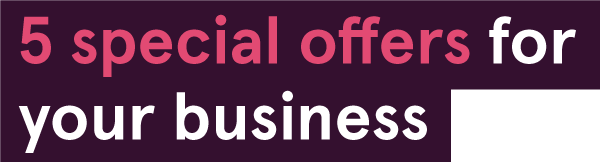 5 special offers for your business